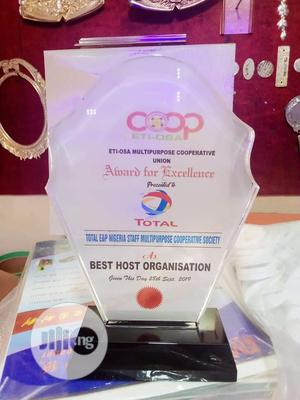 Crystal Award Plaque   Other Services for sale in Lagos State, Mushin
