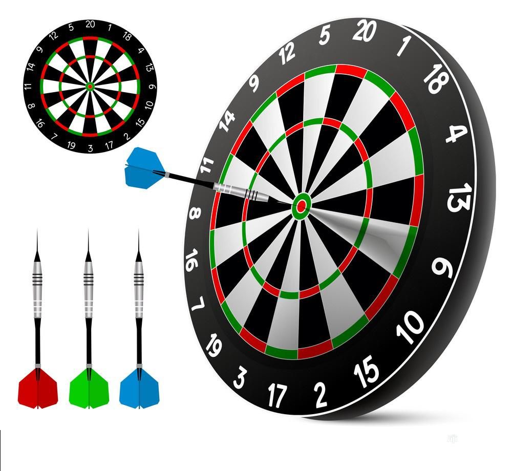 Archive: Action Soft Tip Dart Board Set - Games For Kids - Leisure For Office