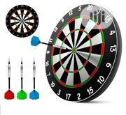 Action Soft Tip Dart Board Set - Games For Kids - Leisure For Office | Books & Games for sale in Lagos State, Surulere