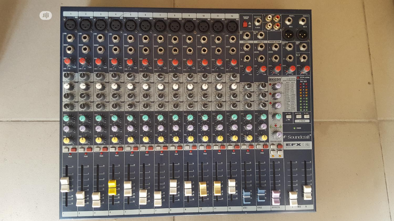 Soundcraft 12 Channel EFX Flat Mixer