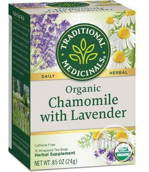 TRADITIONAL MEDICINAL Organic Chamomile W/Lavender, 16 Tea | Vitamins & Supplements for sale in Lagos State, Lekki