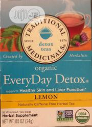 TRADITIONAL MEDICINAL Organic Everyday Lemon Detox Tea, 16 Bags | Vitamins & Supplements for sale in Lagos State, Lekki Phase 1