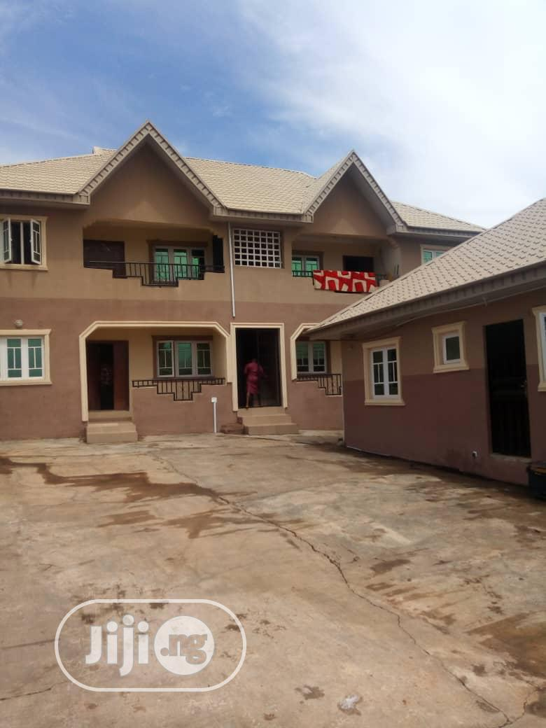 2 Bedrooms 4 Flat With Rooms Parlor BQ at Akobo Ibadan