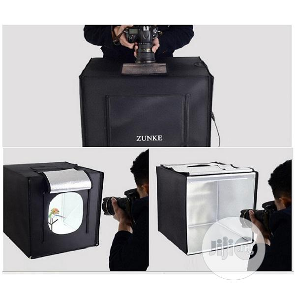 Photo Box Professional Photography Tent With 2pcs Led Lighting 50x50cm | Photo & Video Cameras for sale in Alimosho, Lagos State, Nigeria
