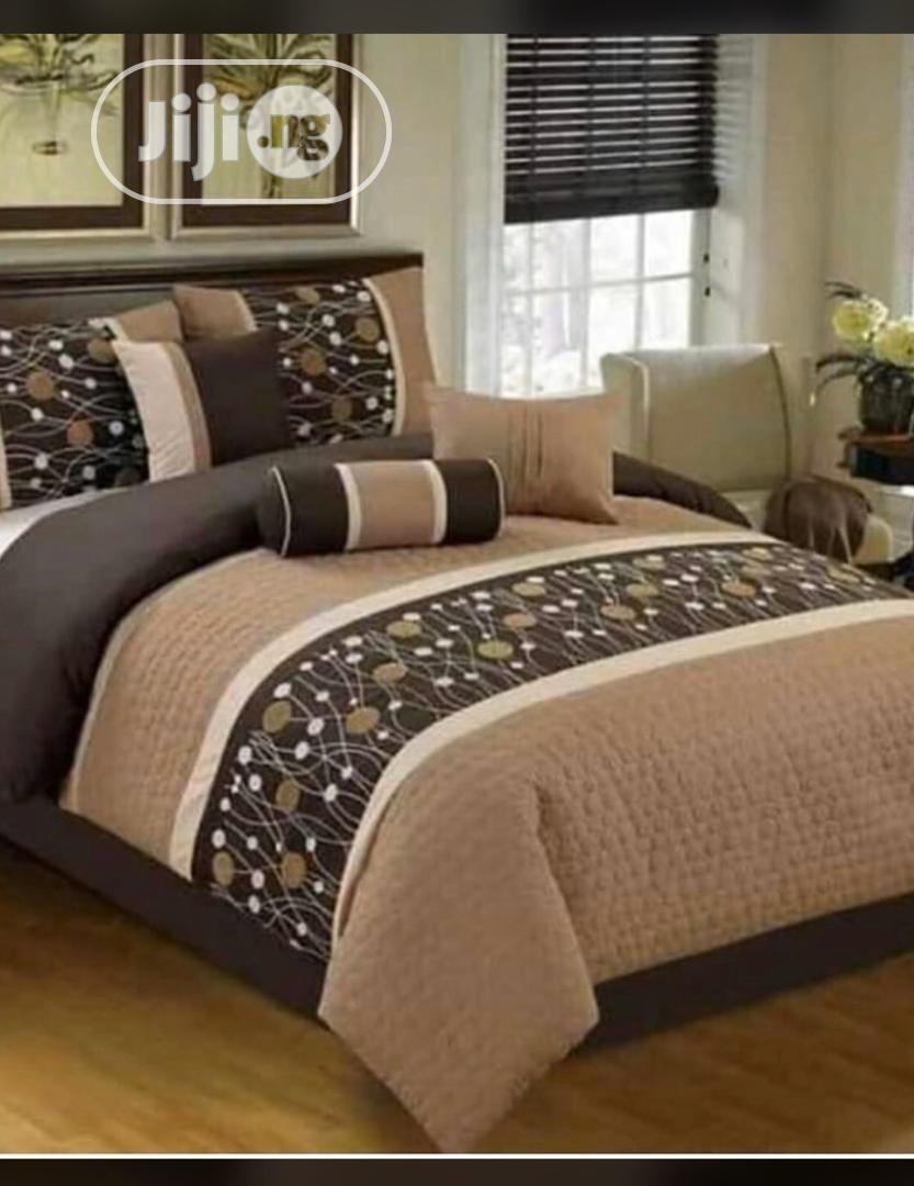 Set Of Bedding With Four Pillowcases