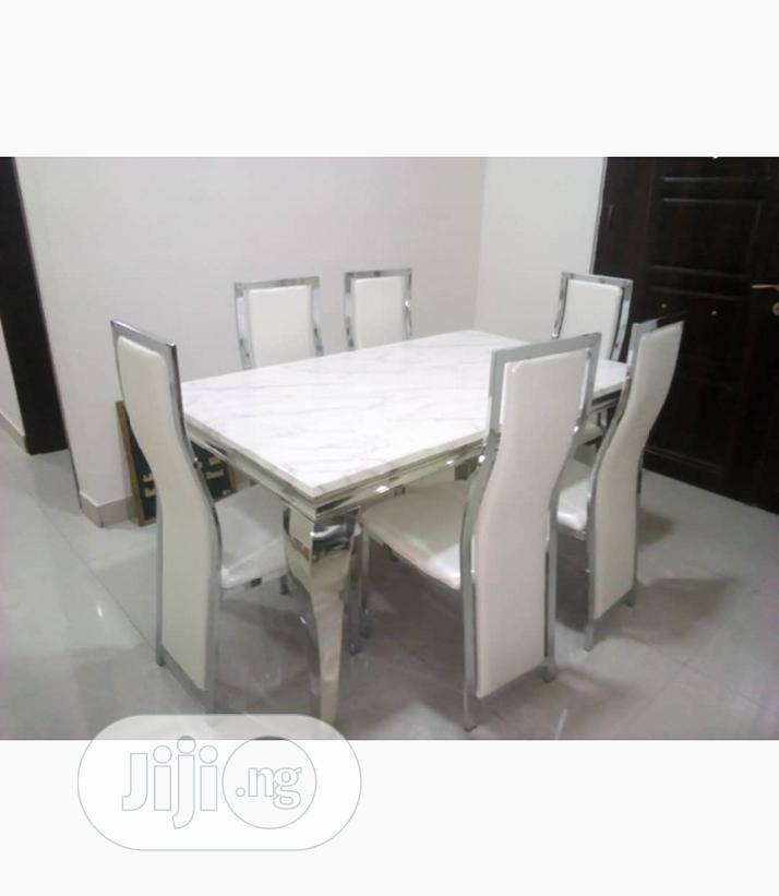 Marble Dining Table In Victoria Island Furniture Kenro Furniture Jiji Ng For Sale In Victoria Island Buy Furniture From Kenro Furniture On Jiji Ng