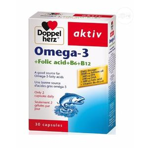 Omega-3 Fish Oil 2000mg by 30 Capsules   Vitamins & Supplements for sale in Abuja (FCT) State, Wuse 2