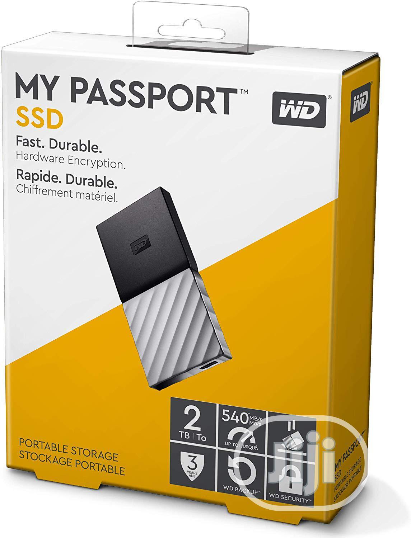 WD 2TB My Passport SSD External Portable Drive,USB 3.1,Up