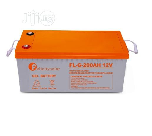 Gel Battery 200ah/12v Felicity Solar