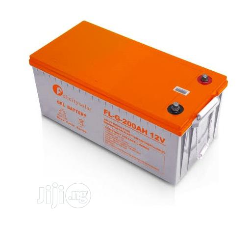Gel Battery 200ah/12v Felicity Solar | Solar Energy for sale in Gwarinpa, Abuja (FCT) State, Nigeria