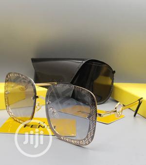 Designer Fendi Sunglass Gold | Clothing Accessories for sale in Lagos State, Lagos Island (Eko)