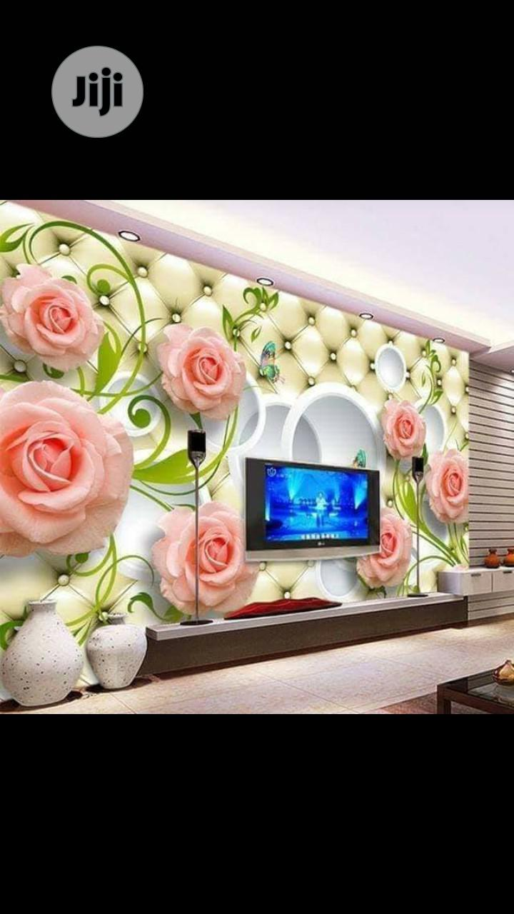 8D Wall Murals With Installation
