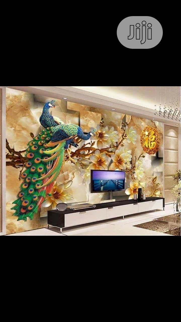 8D Wall Murals With Installation | Building & Trades Services for sale in Benin City, Edo State, Nigeria