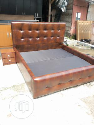 Upholstered Sofa's Leather Beds   Furniture for sale in Lagos State, Lekki