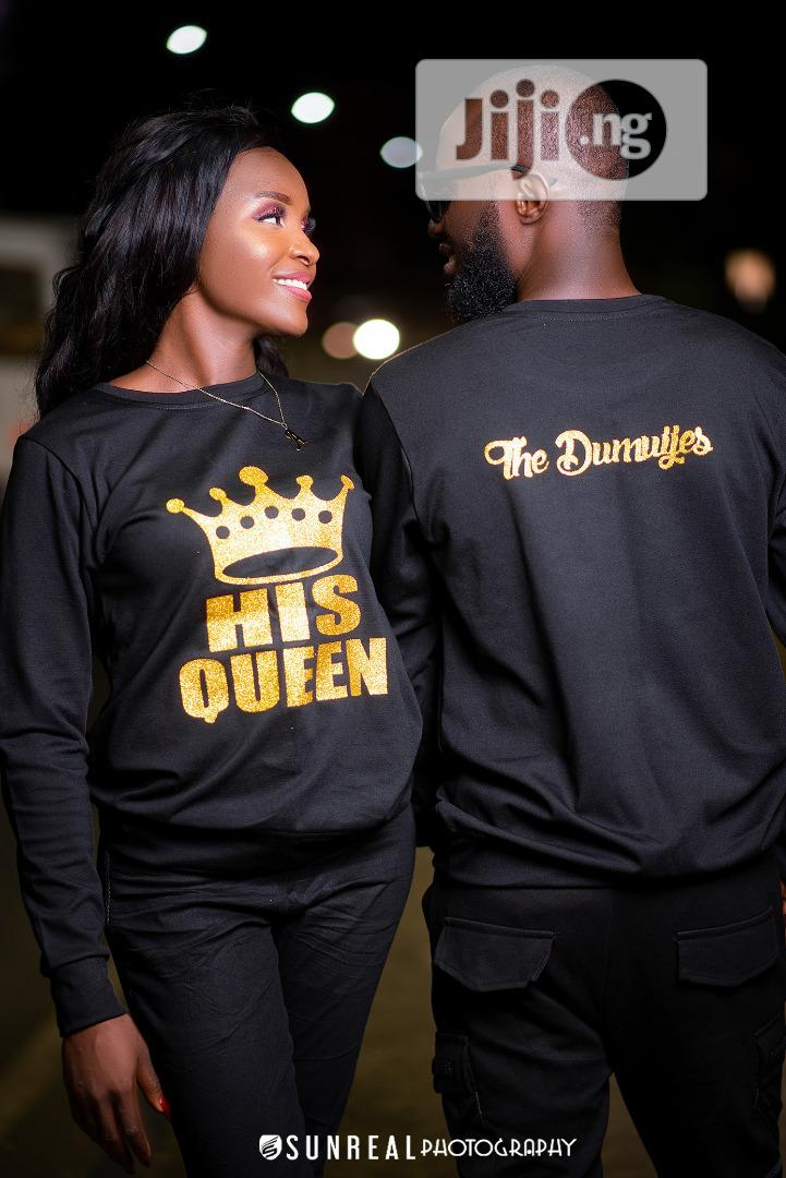 Customized Couple T Shirts Sweatshirts In Lagos State Clothing Victoria Coutures Jiji Ng For Sale In Lagos Buy Clothing From Victoria Coutures On Jiji Ng