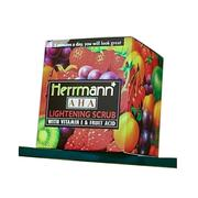 Herrmann Lightening Scrub With Vitamin E & Fruit Acid | Skin Care for sale in Lagos State, Lekki Phase 1