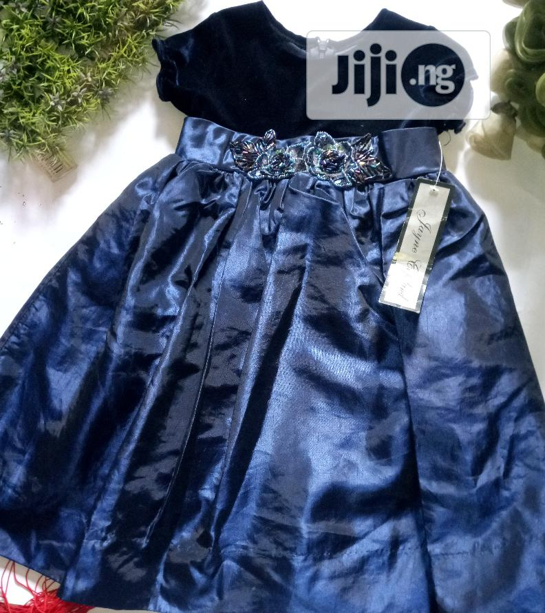 Archive: Jayne Copeland Navy Blue Gown