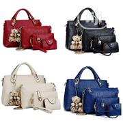 Ladies 4 in One Set Bag- Red   Bags for sale in Rivers State, Port-Harcourt