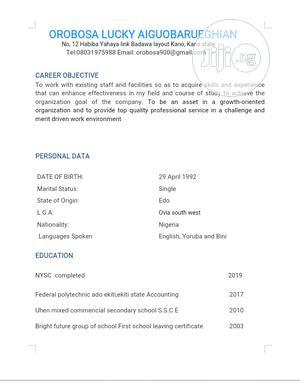 Free Work Visa   Travel & Tourism CVs for sale in Kano State, Nasarawa-Kano