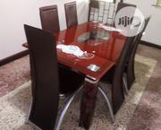 New High Quality Glass Dining Table By-6 | Furniture for sale in Lagos State, Ikorodu
