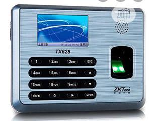 ZKT Zkteco Tx628 Fingerprint Time Attendance Fingerprint Time Clock | Computer Accessories  for sale in Lagos State, Ikeja