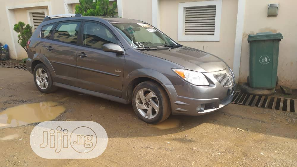 Pontiac Vibe 2008 Gray | Cars for sale in Ojodu, Lagos State, Nigeria