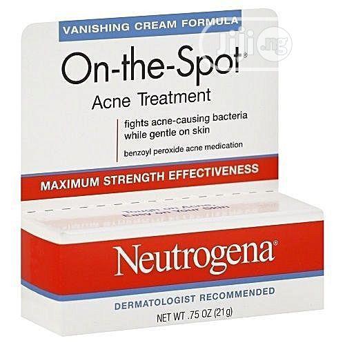 Neutrogena On-the-spot Acne Treatment With Benzoyl Peroxide (0.75oz)