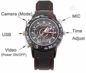 HP/DVR 8GB Waterproof Spy Camera Wrist Watch | Security & Surveillance for sale in Lagos State, Ikeja