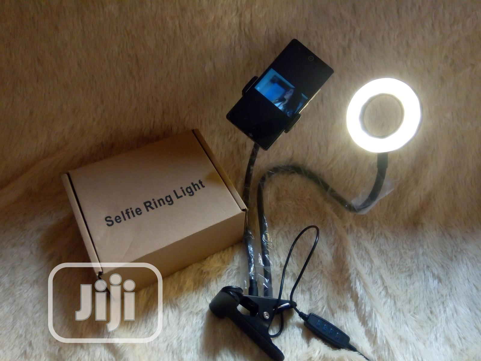 Selfie Ring Light With Phone Holder | Accessories for Mobile Phones & Tablets for sale in Surulere, Lagos State, Nigeria