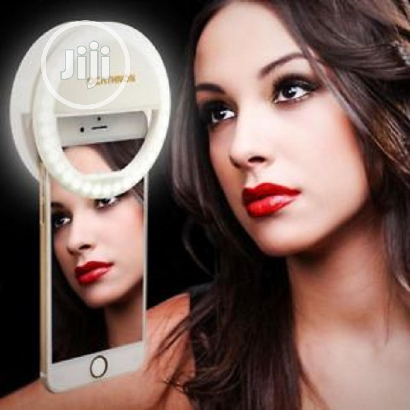 Rechargeable Mobile Phone Selfie Ring Light