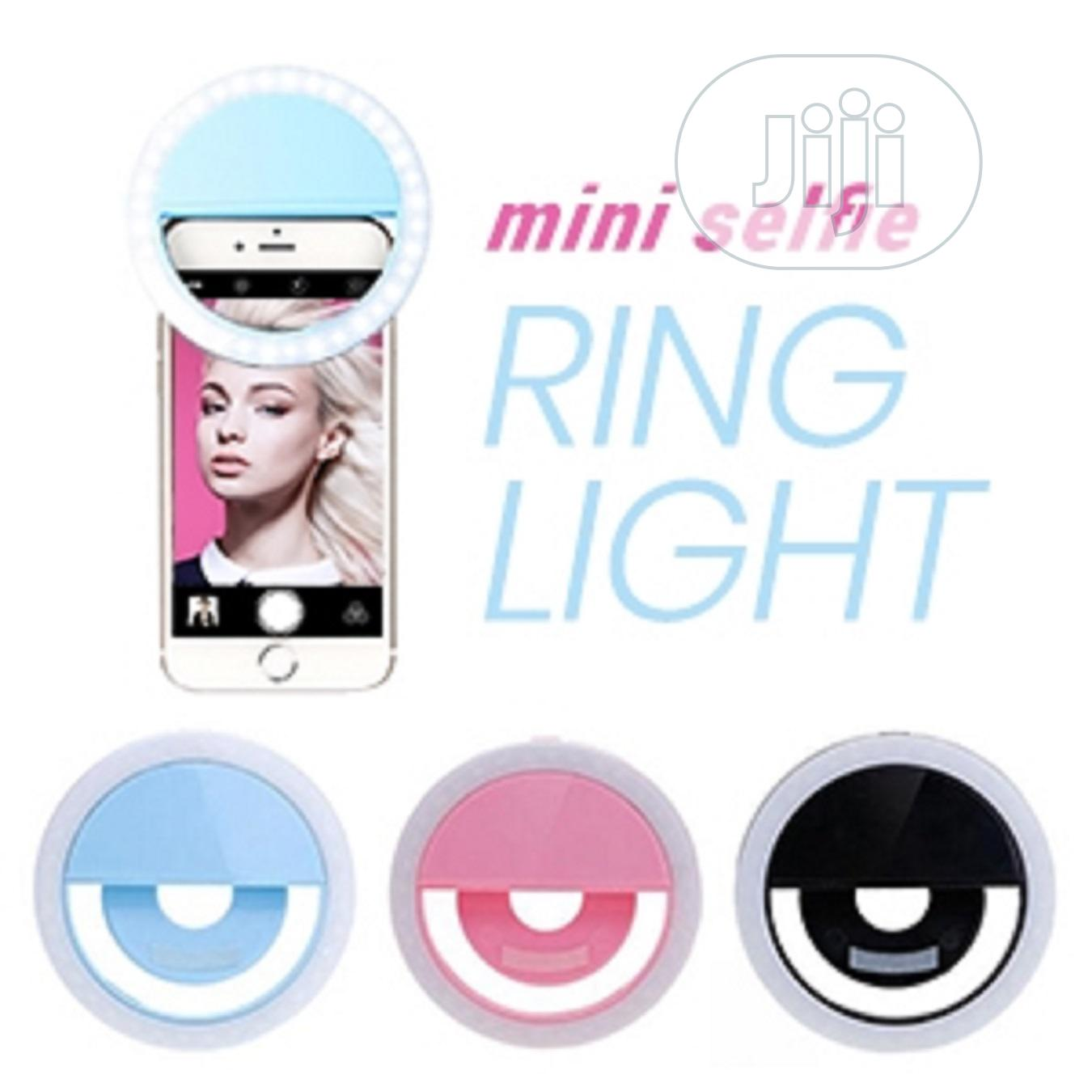 Rechargeable Mobile Phone Selfie Ring Light | Accessories for Mobile Phones & Tablets for sale in Surulere, Lagos State, Nigeria