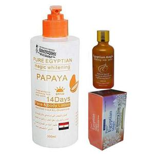 Pure Egyptian Whitening 3 in 1 Set | Skin Care for sale in Lagos State, Ojo