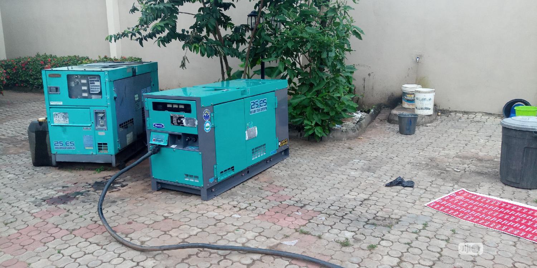 Japanese Denyo Sound Proof Generators
