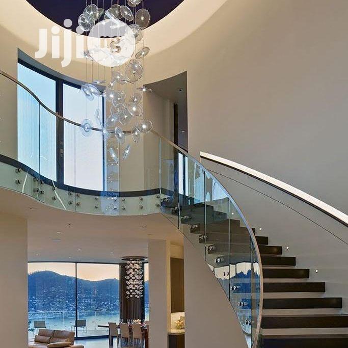 Archive: Spiral Frameless Glass & Stainless Steel Handrails Baluster