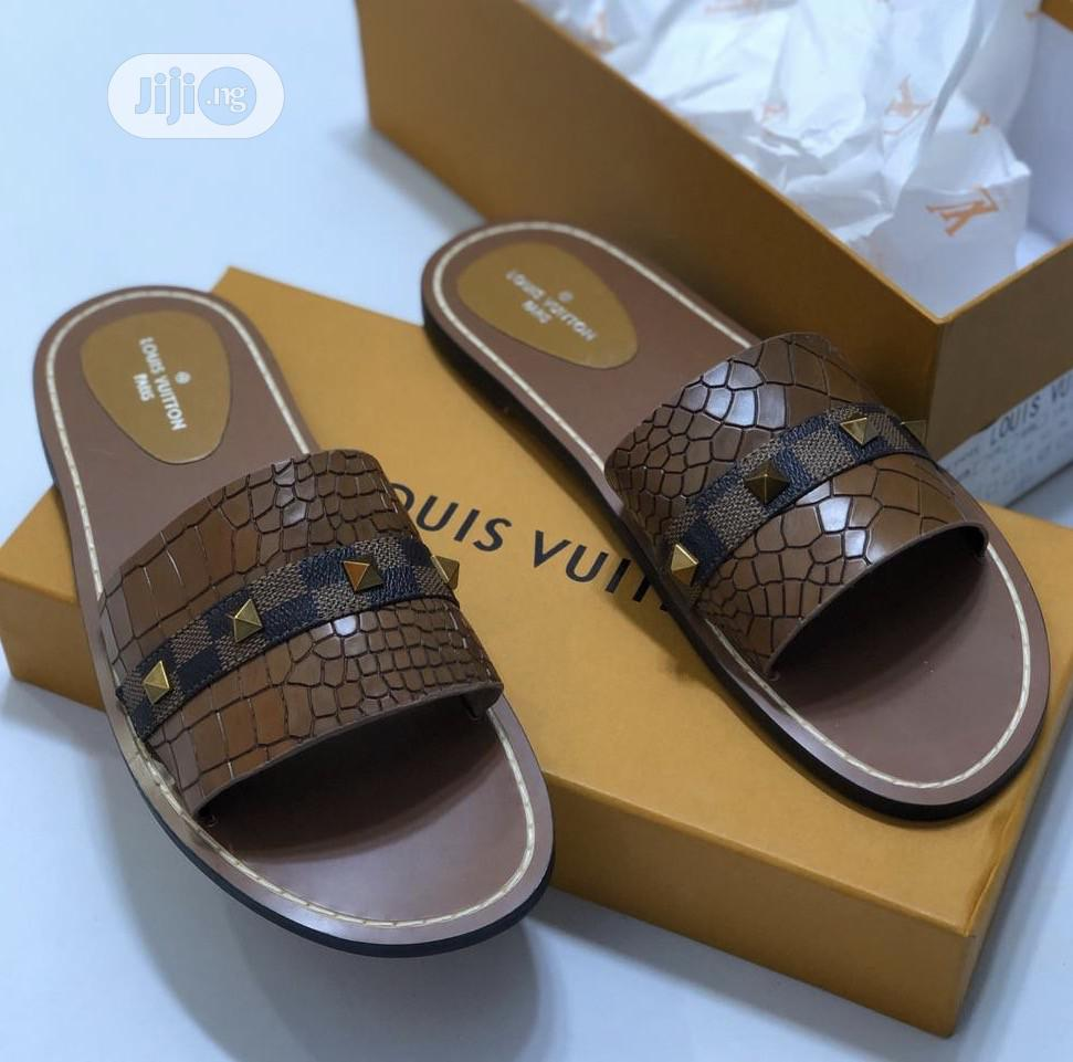 Louis Vuitton Slippers | Shoes for sale in Surulere, Lagos State, Nigeria