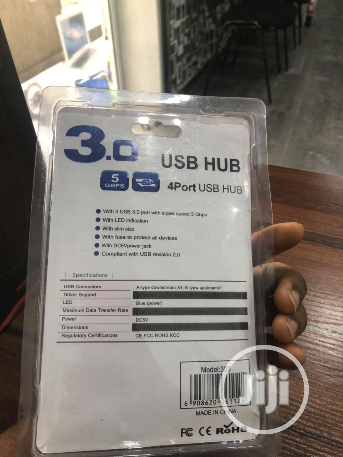 4ports Usb Hub. | Computer Accessories  for sale in Uvwie, Delta State, Nigeria