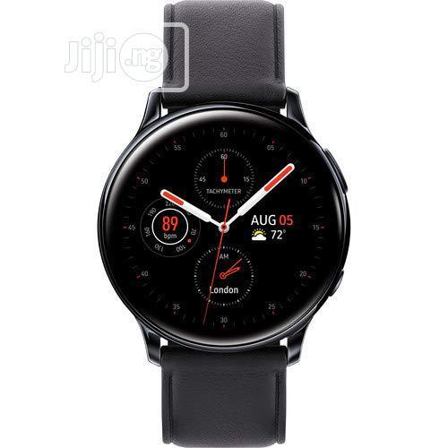 Samsung Galaxy Watch Active2 Lte Smartwatch Stainless Steel, Black