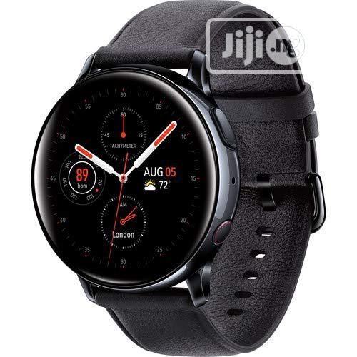 Samsung Galaxy Watch Active2 Lte Smartwatch Stainless Steel, Black | Smart Watches & Trackers for sale in Ikeja, Lagos State, Nigeria