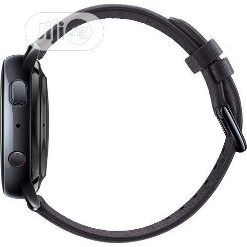 Samsung Galaxy Watch Active2 Lte Smartwatch Stainless Steel, Black   Smart Watches & Trackers for sale in Ikeja, Lagos State, Nigeria