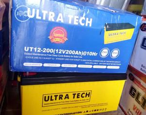 200ah 12volts Ultra Tech Battery | Solar Energy for sale in Lagos State, Maryland