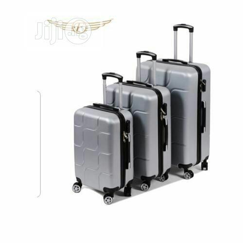 Bumper Trolley Luggage Box - 3 Sets
