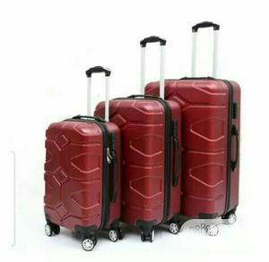 Bumper Trolley Luggage Box Set Of 3 | Bags for sale in Lagos State, Ibeju