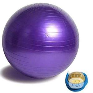 Exercise/Gym Ball With Pump   Sports Equipment for sale in Lagos State