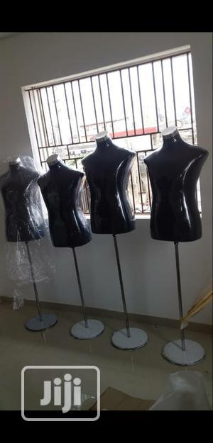 Black Colour Male & Female Half Body Non Pinnable Model Dressform | Store Equipment for sale in Lagos State, Lagos Island (Eko)