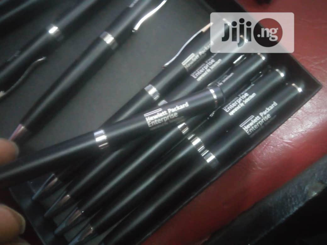 Corporate Steel Pen With Branding -lazer | Stationery for sale in Surulere, Lagos State, Nigeria