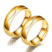 Stainless Steel Couple's Diamond Set Ring | Jewelry for sale in Abuja (FCT) State, Dutse-Alhaji