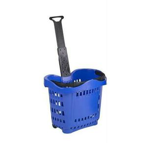 Big Shopping Plastic Trolley With Wheels | Store Equipment for sale in Lagos State, Surulere