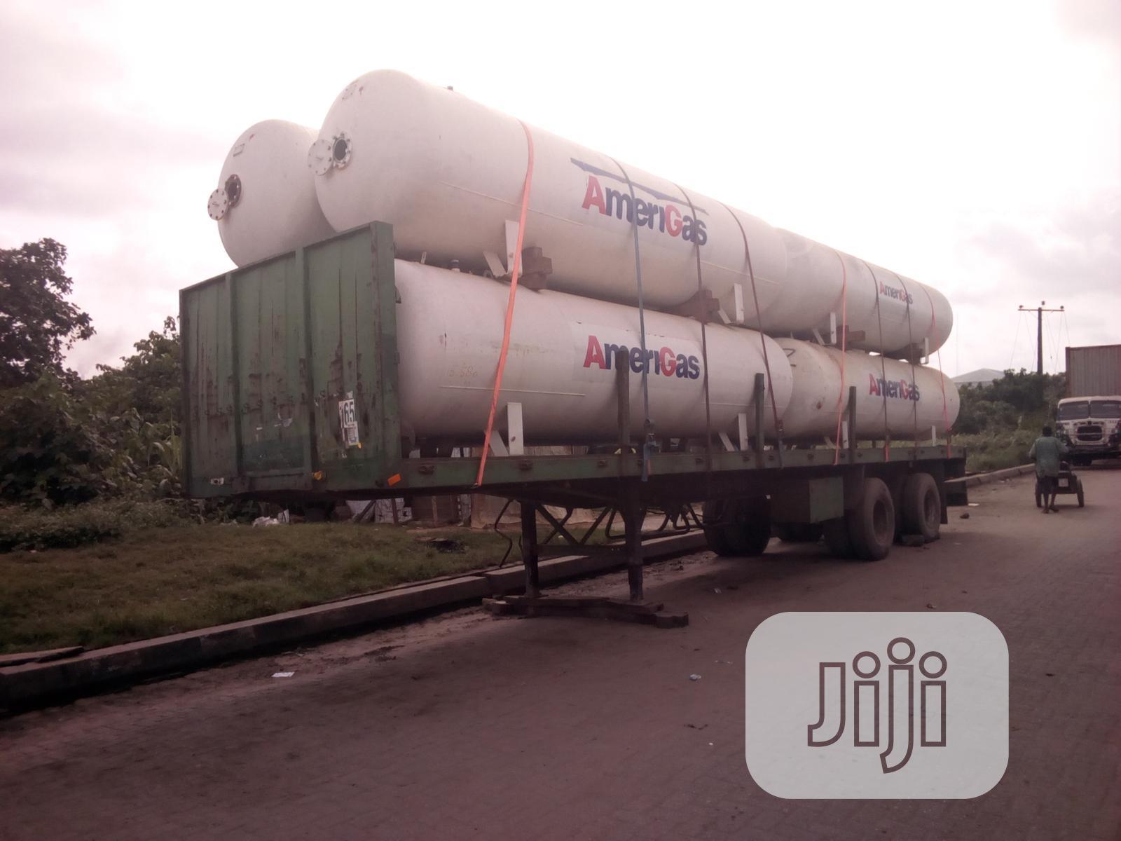 LPG Storage Gas Tank 3.5 Tons