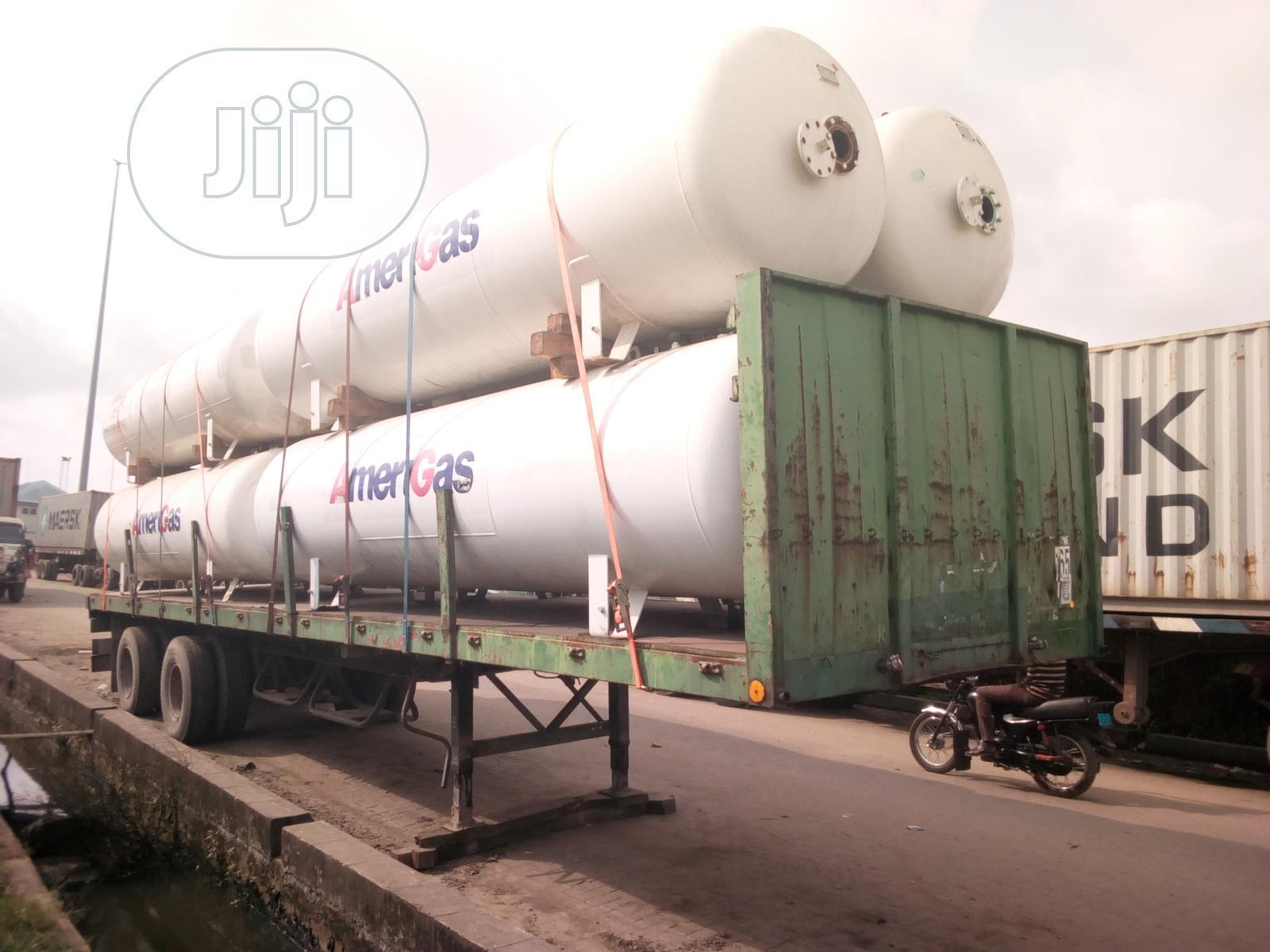 LPG Storage Gas Tank 3.5 Tons | Heavy Equipment for sale in Apapa, Lagos State, Nigeria