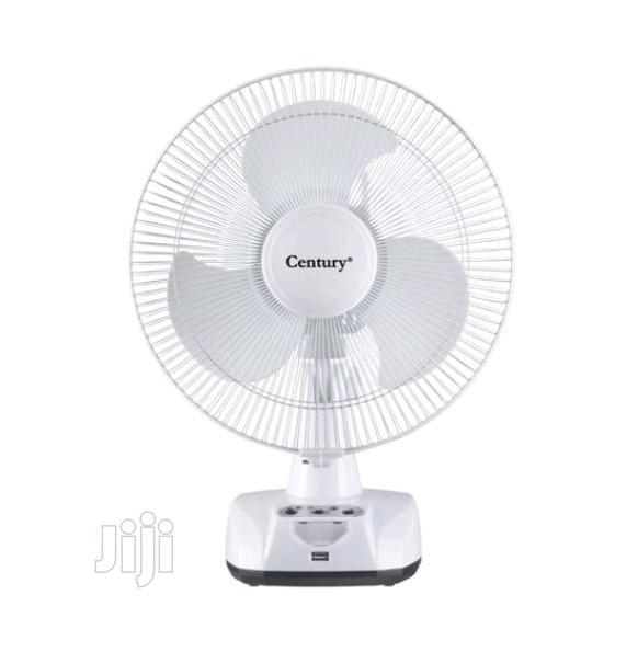 12'' Century Rechargeable Table Fan